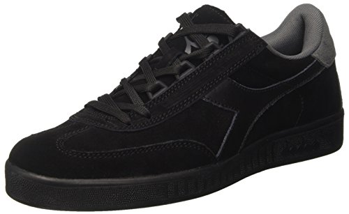 Diadora Herren B.original Sneakers, Schwarz (Nero/Grigio), 43 EU