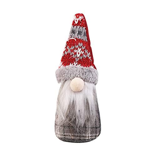 Overdose Weihnachtsmann Bart Puppe Kein Gesicht Weihnachtsdeko Festliche Tischdeko Weihnachten Christbaumschmuck Weihnachtssnhänger Zubehörteilen