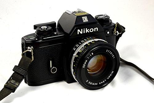 Nikon Em 35mm Film Camera SLR Body W/lens 50mm