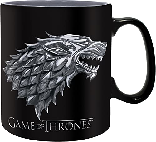 ABYstyle - GAME OF THRONES - Taza - 460 ml - Stark/Winter is coming