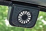AADCART Solar Powered Ventilation Exhaust Fan, Solar Powered Car Window Cool Air Vent Auto Fan