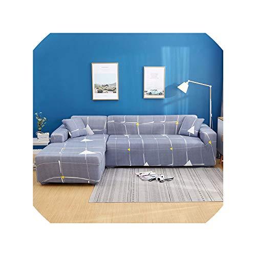 Suzanne Betty Fundas elásticas modernas para sofá de sala de estar, fundas de sofá seccionales de 1/2/3/4 plazas, housse de canape, 038, 3 plazas, 185-230 cm