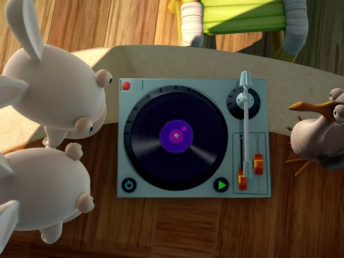 Music Rabbid/Wake Up, Rabbids!/Get in Line, Rabbids!