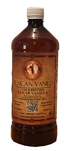 Clear Mexican Vanilla Cold Pressed 1 Liter / 33.8 Oz