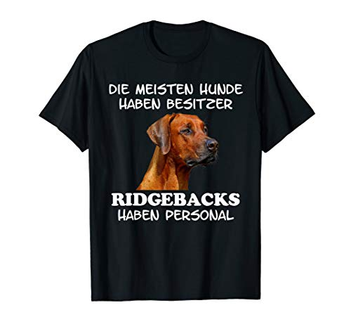 Rhodesian Ridgeback Hund T-Shirt Shirt Damen Herren