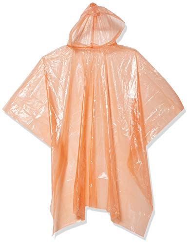 Korntex poncho kinderregenponcho, oranje, één maat