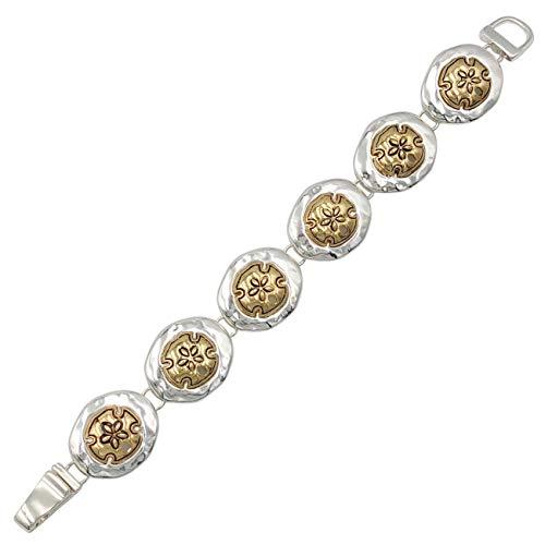 Gypsy Jewels Sealife - Pulsera de eslabones magnéticos, diseño náutico de Playa