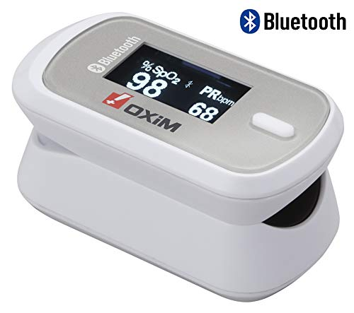 【Bluetooth対応】シースター パルスオキシメーター オキシシリーズ S-127 豪華付属品3点セット (オキシヤ...