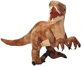 Wild Republic Velociraptor Plush, Dinosaur Stuffed Animal, Plush Toy, Gifts for Kids, Dinosauria 17 Inches