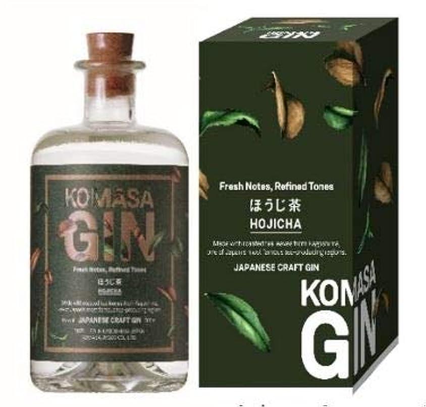 広範囲章衣装小正醸造 KOMASAGIN-ほうじ茶 [ ジン 500ml ] [ギフトBox入り]