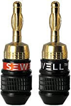 Sewell Direct SW-29863-6 Deadbolt 6-Pairs Banana Plugs