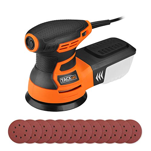 Orbital Sander 6 Variable Speed 350W 13000 RPM 125mm...