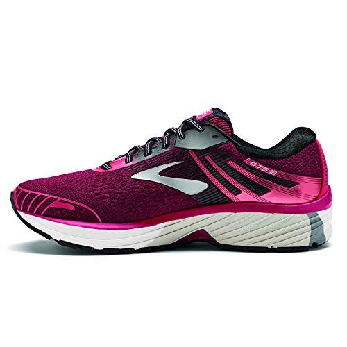 Brooks Adrenaline Gts 18, Womens Running Running Shoes, Pink (Pink/Black/White 1B619), 4 UK (36.5 EU)