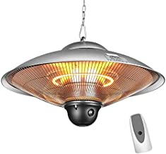Electric Patio Heater, Outdoor Patio Heater, Infraroodstralers, Halogeen Fire Tube Verwarming, geschikt als BBQ Party Heat...