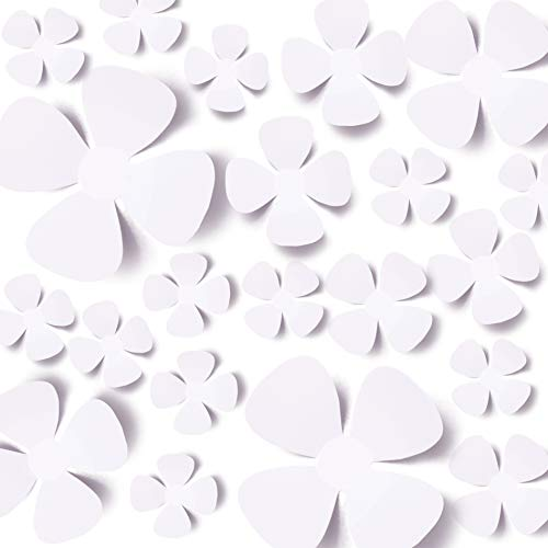 3d wall decals flowers