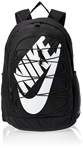 Nike Unisex-Adult Nk Hayward Bkpk - 2.0 Luggage- Messenger Bag, Black/White, 45 cm