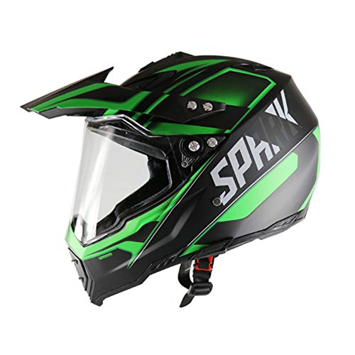 LICIDI motorcross helm viervoudige botsing DH scooter helm ATV helm certificaat DOT AM mountainbike volledige helm