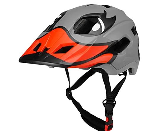 BMX Casco Infantil Integral para Ciclismo Enduro. Totalmente Ajustable con Mentoner Desmontable. Tamaño Ajustable Entre 48-58 cm