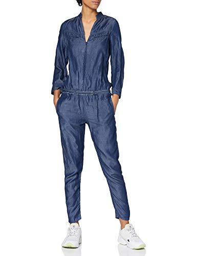 G-STAR RAW Damen Tacoma Slim Jumpsuit, Blau (Dk Aged 8980-89), Small
