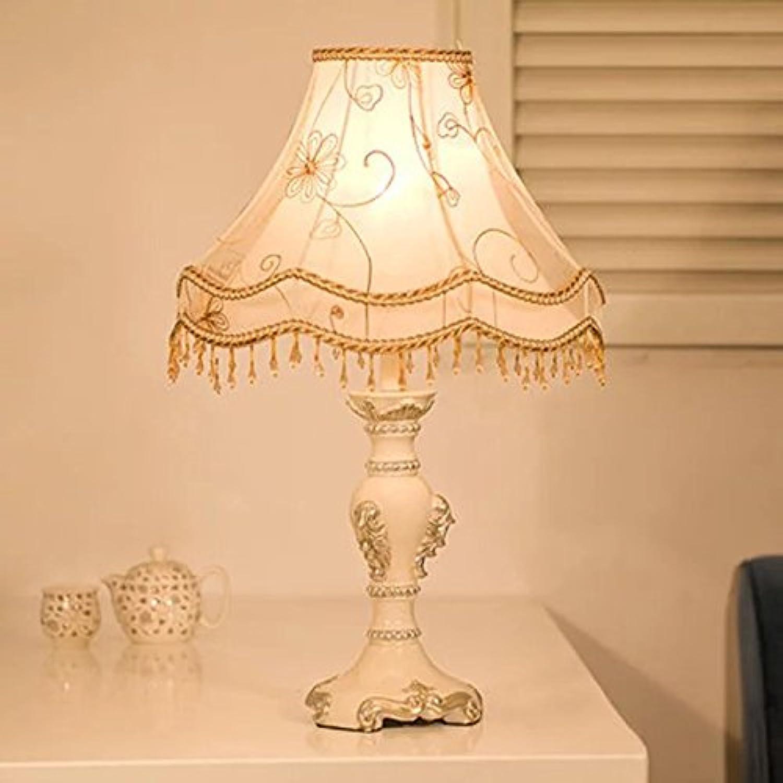 Nachttischlampe Schlafzimmer Wohnzimmer im europäischen Stil Garten Prinzessin weißen Tuch Tuch Tuch Lichter dekorative Lampe B01HM3DKQS     | Zürich Online Shop  8662a5