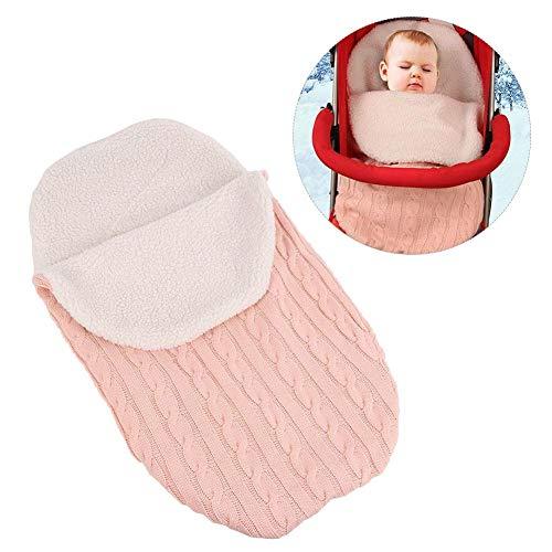 Househome - Saco de dormir para bebé de 0 a 12 meses rosa rosa