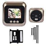Visualizzatore elettronico per porte, facile utilizzo Home Smart Campanello Smart Camera Videocamera di sicurezza Porta di sicurezza Campanello Videocamera per visore per porte, per luoghi
