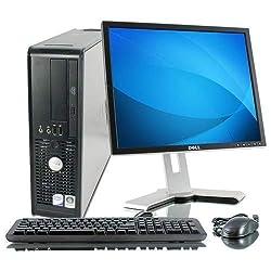 (Renewed) Dell Optiplex 780 Desktop with Intel Core 2 Duo E8400 3.0 Ghz, 4 GB RAM/250 GB HDD/Windows 7, MS Office/Intel Q45 Express Chipset/Wifi Adaptor,Dell Computers,Optiplex 780