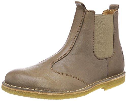 Bisgaard Unisex-Kinder Stiefelette Chelsea Boots, Braun (Taupe), 34 EU