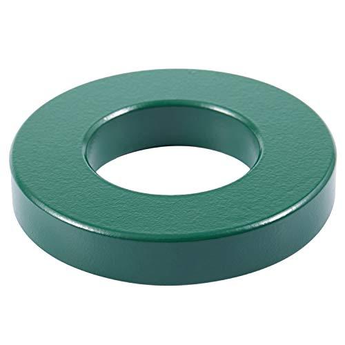 Gaoominy Nucleos toroides de ferrita de transformador Verde 74 mm x 39 mm x 13 mm