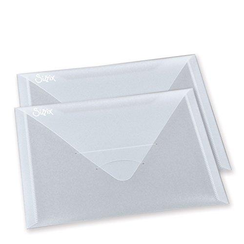 Sizzix 61/4x 9Zoll Versandtaschen aus Kunststoff, 2Stück