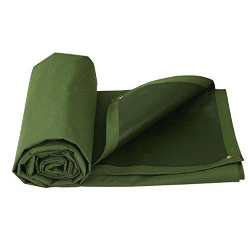 ZZYE Lona Paño para Acampar, Pesca, Jardinería-650g / m² para Acampar Lona Impermeable (Size : 6X4M)