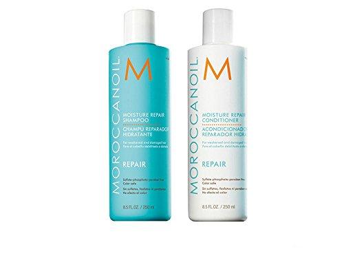 Moroccanoil Moisture Repair Shampoo & Conditioner im Set (2 x 250ml Set)