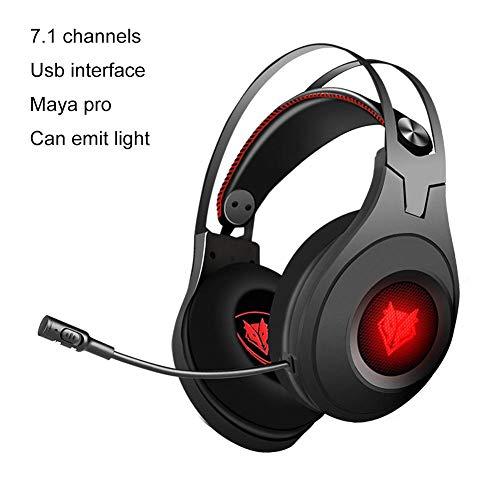 iBelly Gaming Headset, NUBWO N2 Gaming Kopfhörer für PC Mikrofon Stereo Gaming Headset kompatibel mit PC, Xbox One, PS4, Switch, Wii U Kopfhörer B1