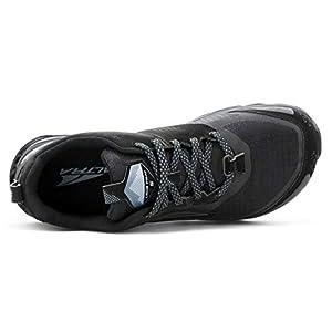 ALTRA AL0A4VR7 Women's Lone Peak 5 Trail Running Shoe, Black - 8.5 M US