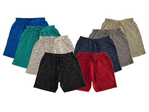 Bermuda Moletinho Infantil 100% Algodão Kit Com 5 Peças Desenho do tecido:Liso/Sortido;Tamanho:4