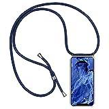 Oihxse con Cuerda Ajustable Funda Compatible con Samsung Galaxy J3 2016/J310/J320, Colchón de Aire Anti-Choque Anti-Rasguños Cover, Suave Transparente TPU Silicona Protection Case