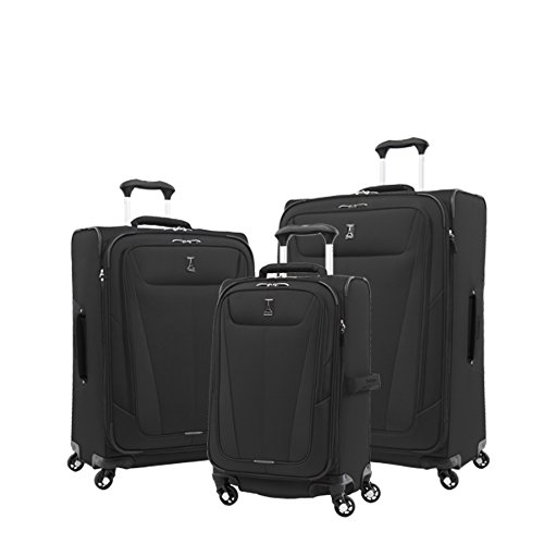 Travelpro Luggage Maxlite 5 | 3-PC Set | 21' Carry-On, 25' & 29' Exp. Spinners (Black)