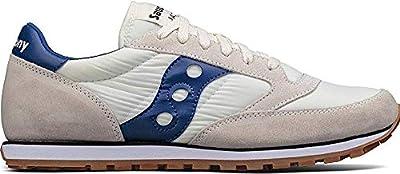 Saucony Originals Men's Jazz Lowpro Sneaker, Cream Blue, 10 Medium US