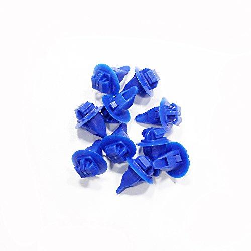 Tuqiang Voiture rivets Fermeture Push type Clips de fixation pour trou de coupe Diamètre 8 mm 50 pcs