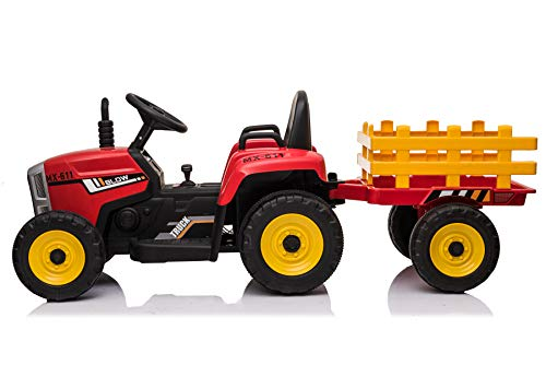 Biemme Tractor eléctrico de 12 V con reborde.