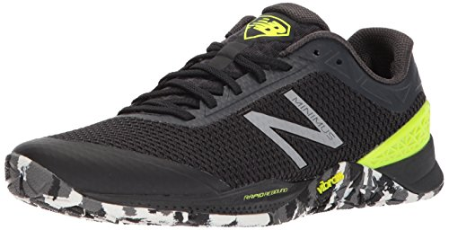 New Balance Men's Minimus 40 V1 Cross Trainer, Black, 8 D US