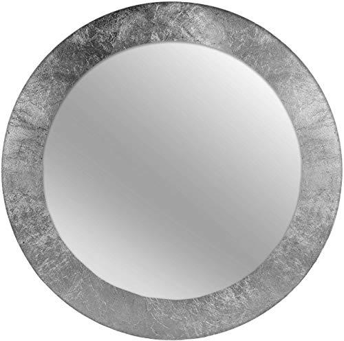 Nielsen Home Wandspiegel Nevio, Silber, MDF, ca. ø 50 cm rund