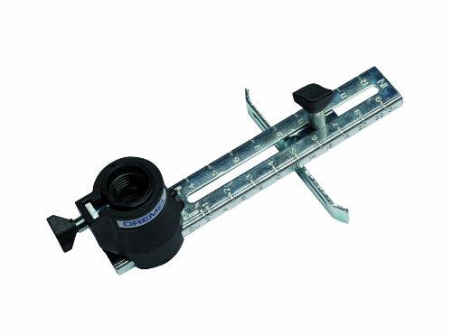 Dremel 678 Kreis- und Parallelschneider, Aufsatz für Multifunktionswerkzeug, Verstellbar, für Fräsen und Schneiden in Gipsplatten, Holz und Laminat