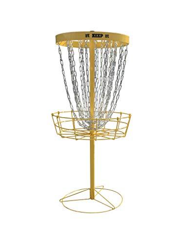 The Keep Golfkorb, PDGA-genehmigt, Schwarz