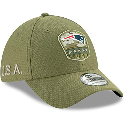 New Era 39Thirty Cap Salute to Service New England Patriots