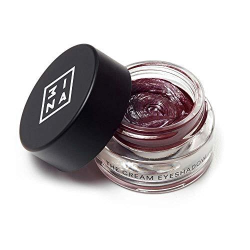 3ina Makeup - Vegan - Cruelty Free - The Cream Eyeshadow 318 - Wasserdicht - 24H Lidschatten Glitzer - Creme-Lidschatten - Metallisch - Langanhaltend - Pflaume