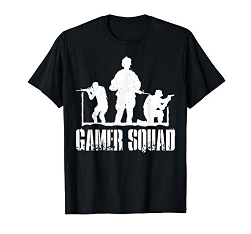 Gamer Squad - Konsole Controller Gaming T-Shirt