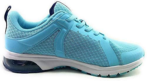 JOHN SMITH Zap.J.Smith Rever W 39, Zapatillas Deportivas Mujer, Azul Celeste, EU