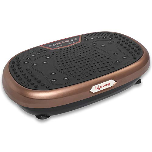 Lifelong Crazyfit Vibration Plate Massager Machine for Full Body Workout,Pain Relief at Home