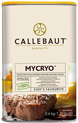 Mycryo Callebaut Burro di cacao in polvere 600 g